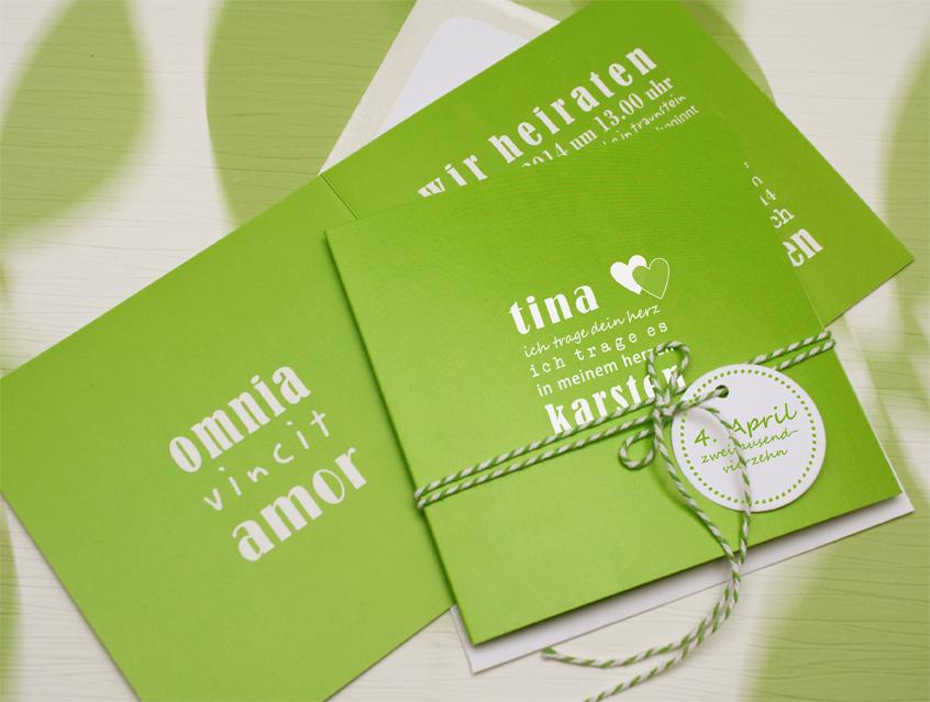7120   Einladung Hochzeit Hochzeitseinladung Hochzeitskarte Liebe Im  Quadrat Karte Papeterie Hochzeitspapeterie Grün Hellgrün ...