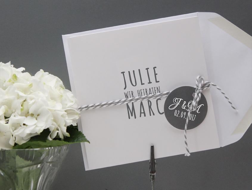 7139   Einladung Hochzeit Hochzeitseinladung Hochzeitskarte Karte Papeterie  Hochzeitspapeterie Weiss Weiß Grau Edel Anthrazit ...