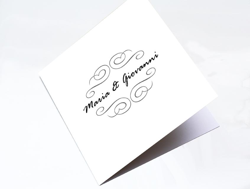7141   Einladung Hochzeit Hochzeitseinladung Elegant White Hochzeitskarte  Karte Papeterie Hochzeitspapeterie Weiß Weiss Exklusiv