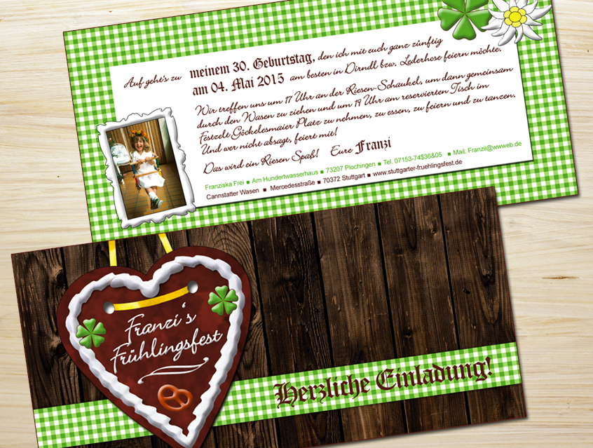 www.1001-idee.de - feste, Einladung
